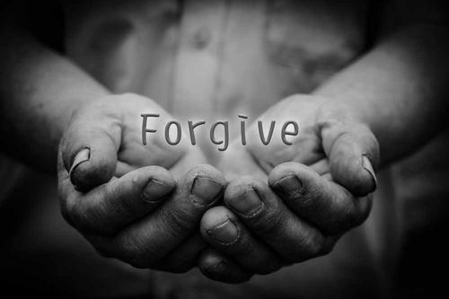 forgive in hand