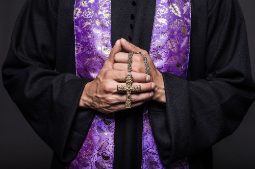 priest purple